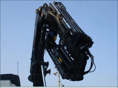 folding crane - 建造业