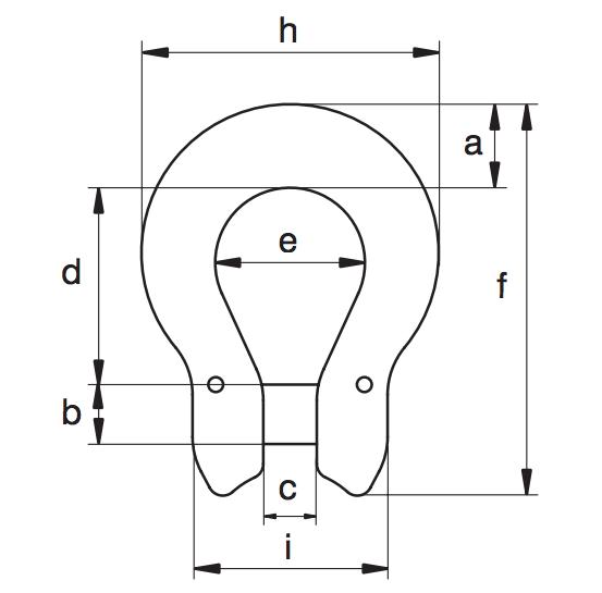 omega 2 - Evo2自动吊钩的顶部吊环