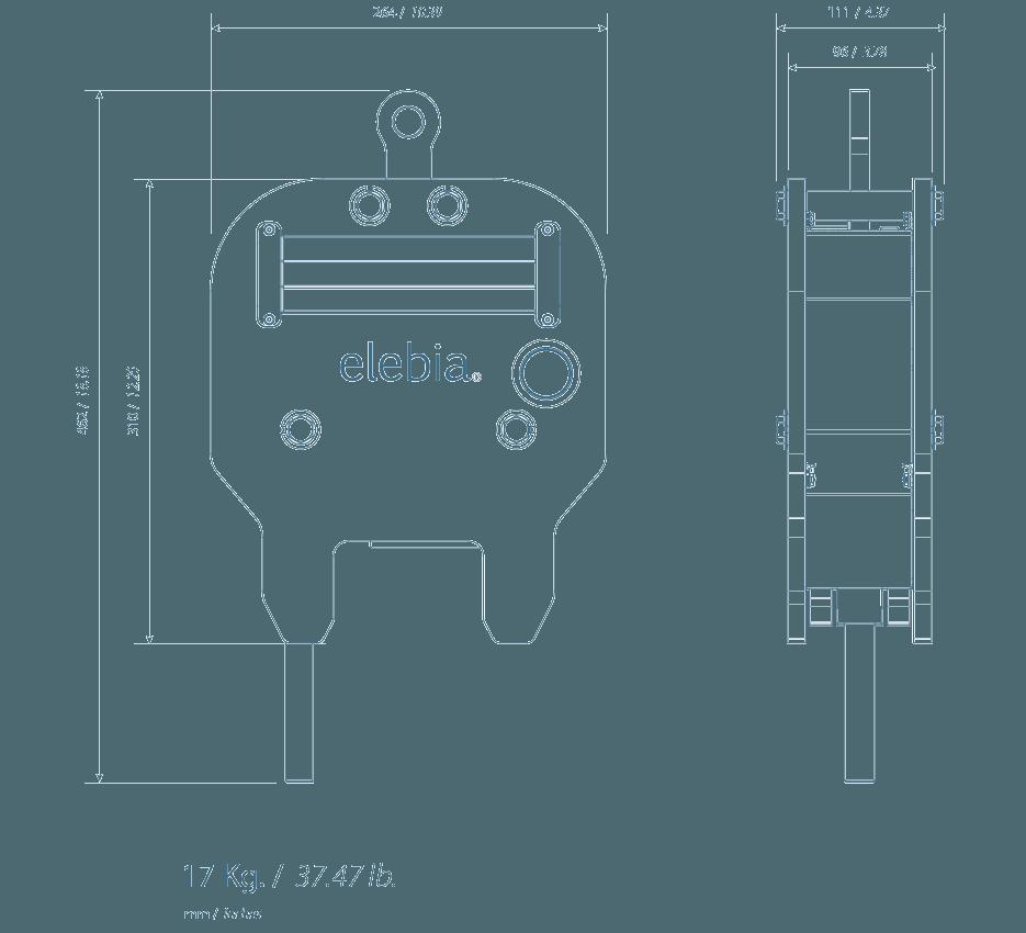 eTrack specs - eTrack轨道起重钳
