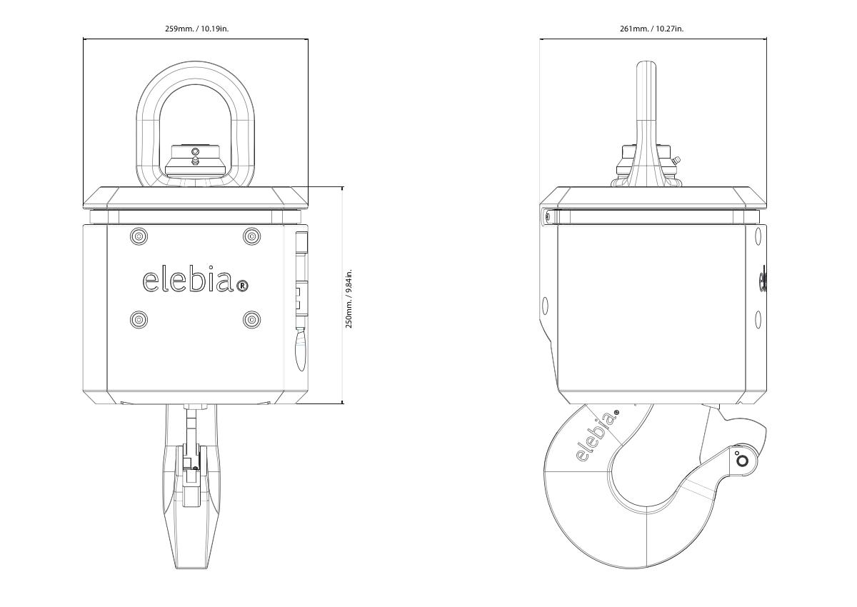 evo5 evo20 bumper with leds - 自动吊钩的保险杠