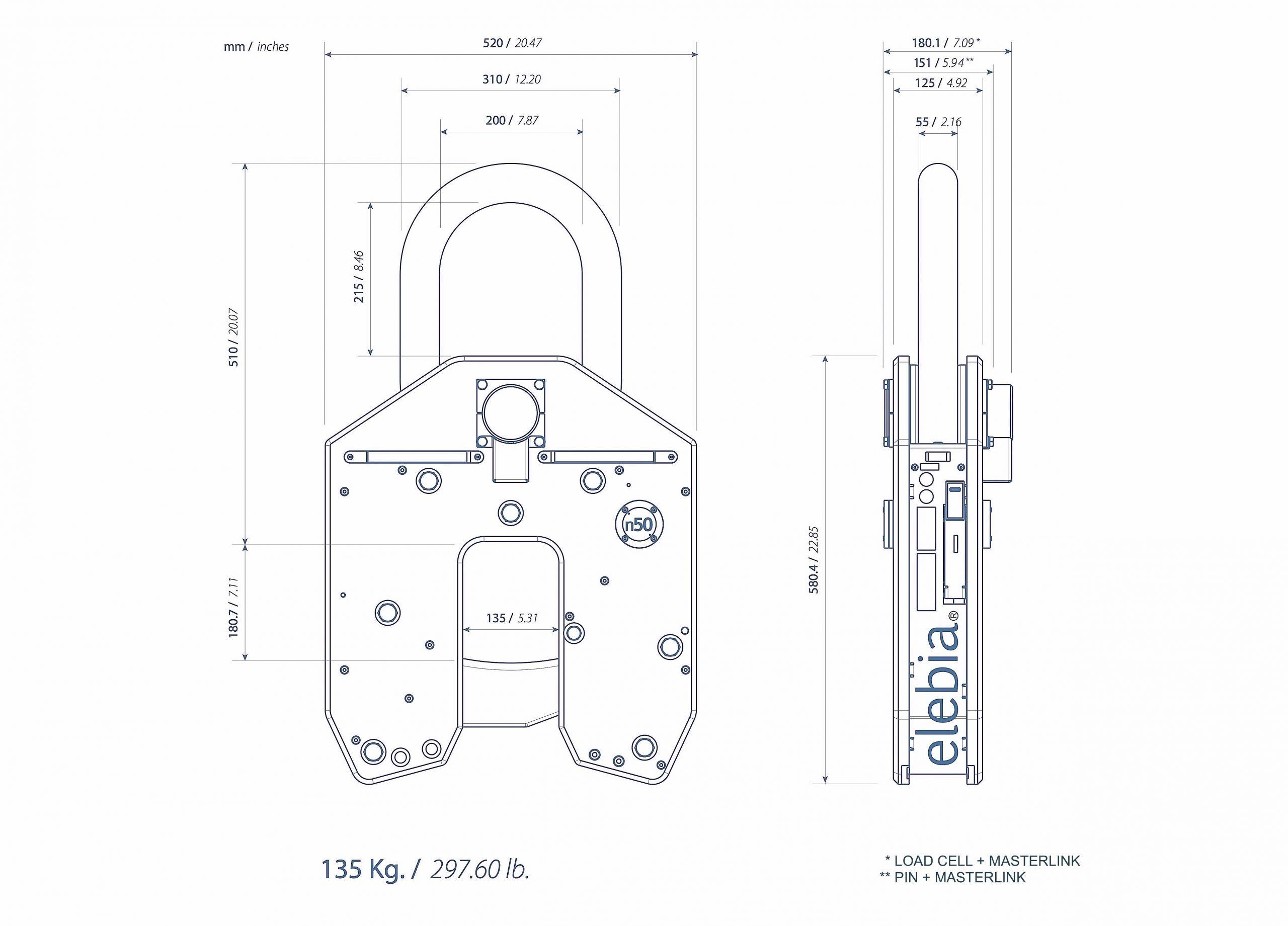 3. NEO50 Lifting Hook scaled - NEO50起重吊钩
