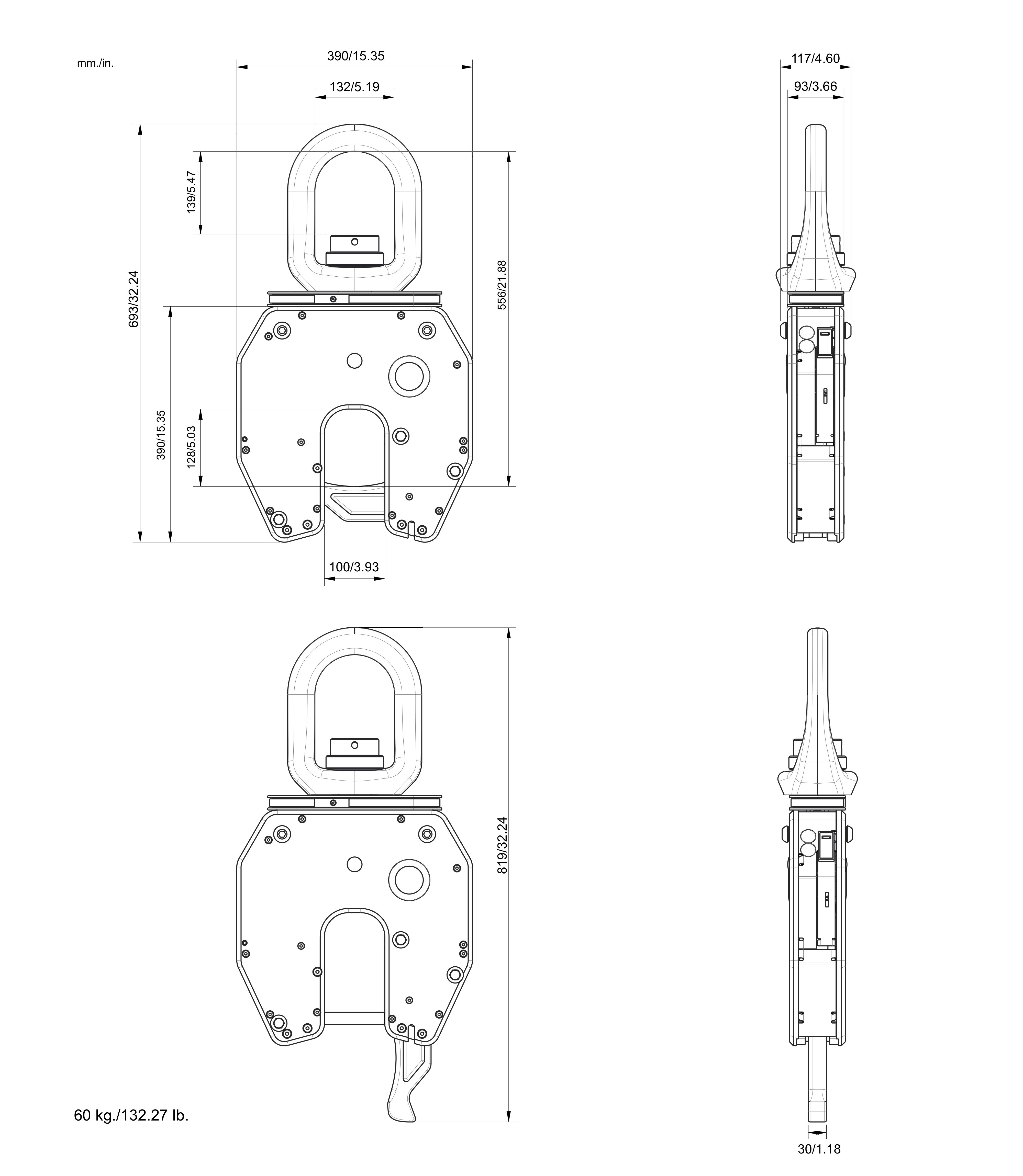 neo20s B30 - NEO20S起重吊钩